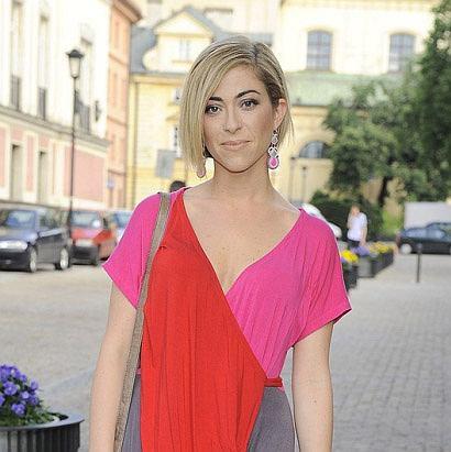 Natalia Kukulska w kolorowej sukience