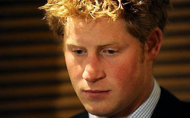 Książę Harry.