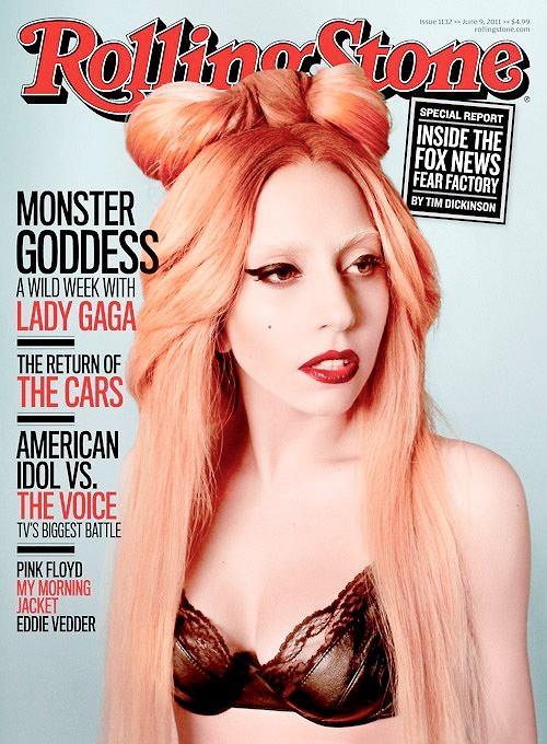 Lady Gaga na okładce magazynu