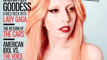 "Lady Gaga na okładce magazynu ""Rolling Stone"""