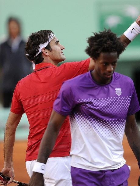 Roger Federer i Gael Monfils