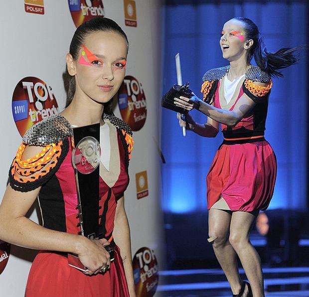 Monika Brodka na Festiwalu Top Trendy 2011