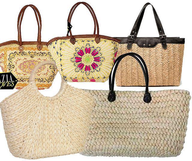 1fb032f8147 Przegląd: Plecione i słomiane: torby na lato