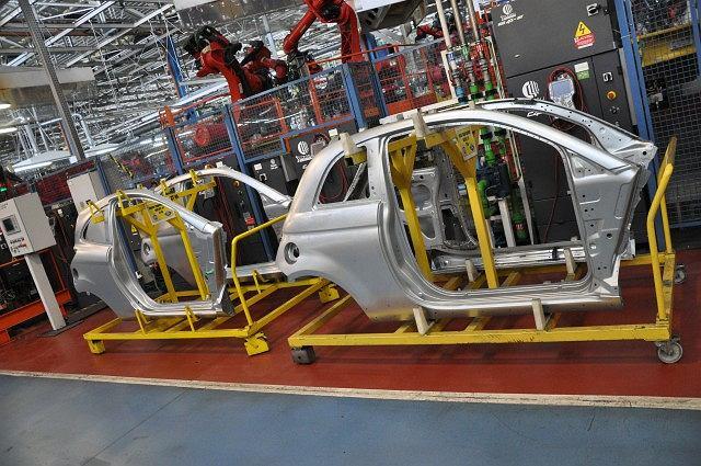 Fabryka Fiat Auto Poland w Tychach - spawalnia