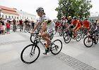 Chmury straszyły, rowery jechały - Polska na rowery w Kielcach
