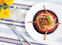 Gniazdka z ciasta Fillo z mięsem mielonym i serem Halloumi - ugotuj
