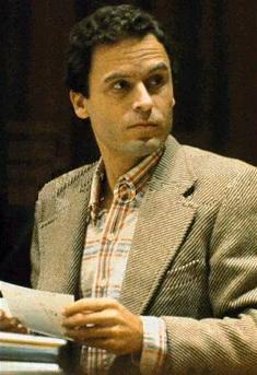 seryjny morderca, zabójstwo, zbrodnia, Ted Bundy