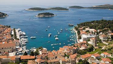 Wyspa Hvar, Chorwacja pogoda