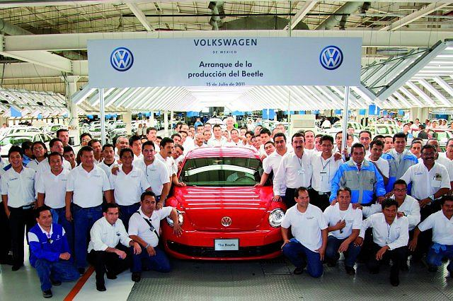 fabryka VW w Meksyku