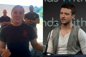 Kapral De Santis i Justin Timberlake.