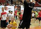 Marcin Gortat będzie dziś uczył koszykówki