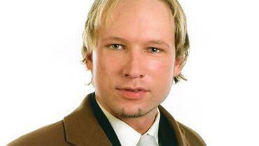 Anders Behring Breivik na zdjęciu z Facebooka