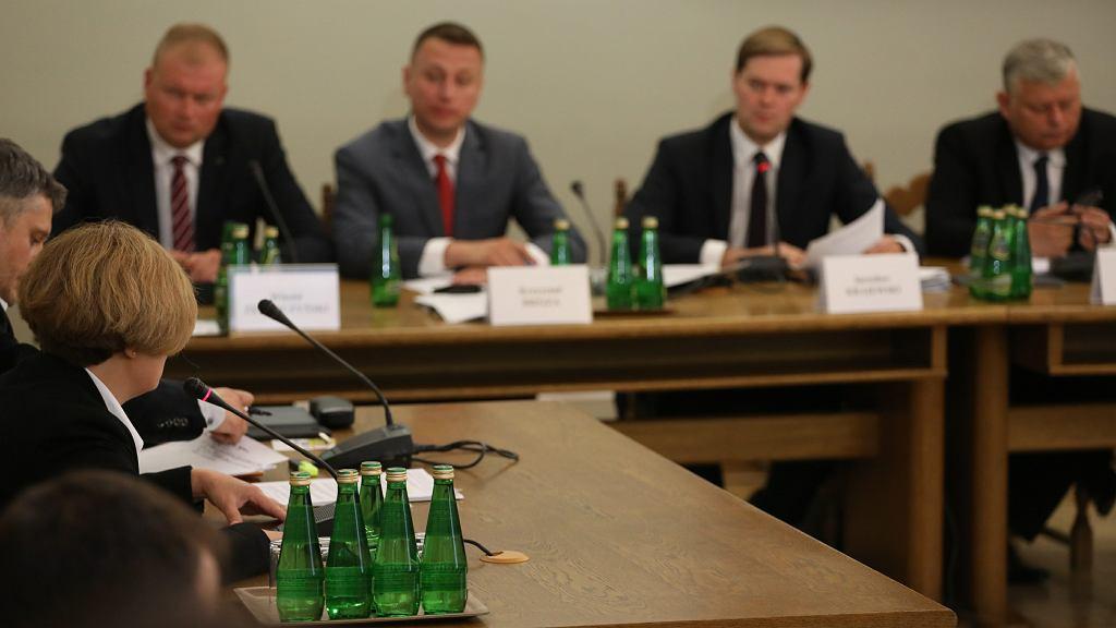 Prok. Barbara Kijanko przed komisją śledczą