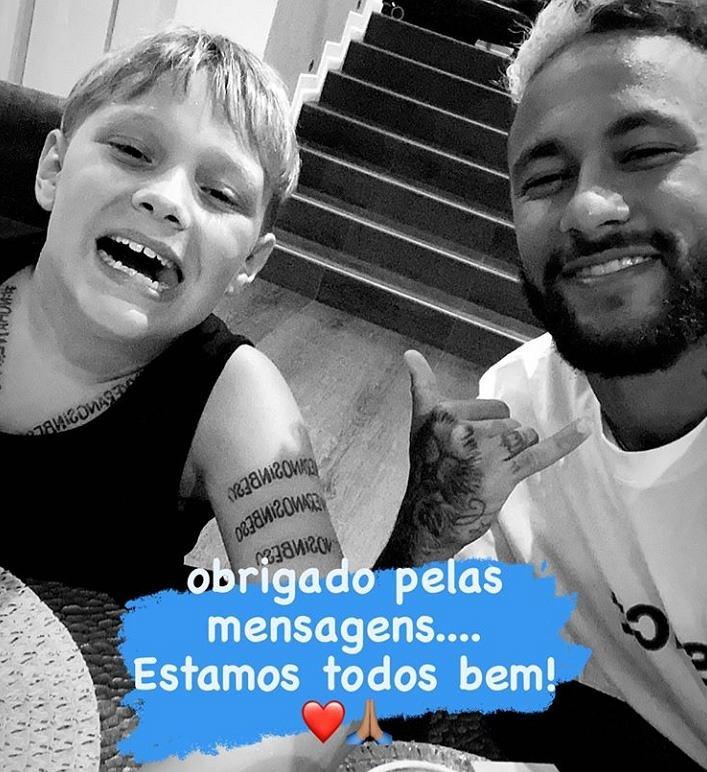 Neymar i jego najbliżsi zarażeni koronawirusem. Piłkarz przesłał wiadomość kibicom