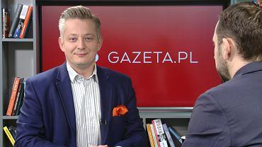 Jakub Stefaniak jest gościem Porannej rozmowy Gazeta.pl