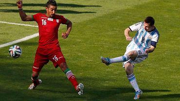 Messi strzela zwycięską bramkę