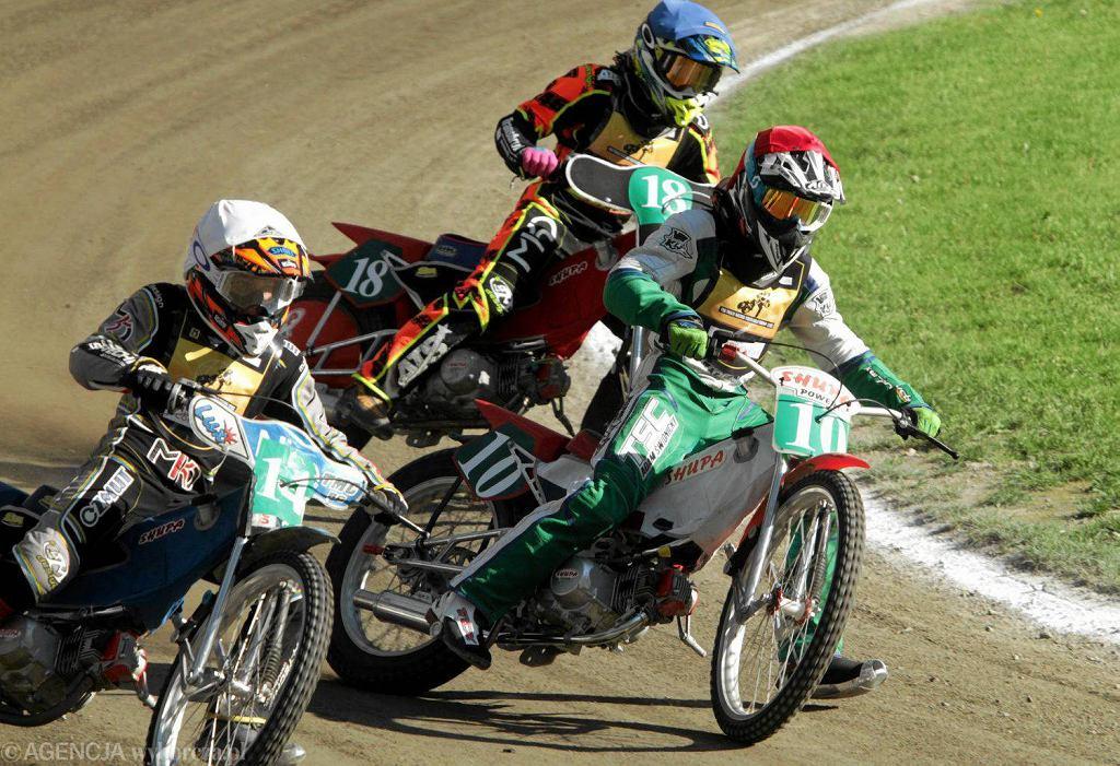 Zuzlowe zawody mlodziezowe FIM Track Racing Youth Gold Trophy 125cc na torunskiej Motoarenie