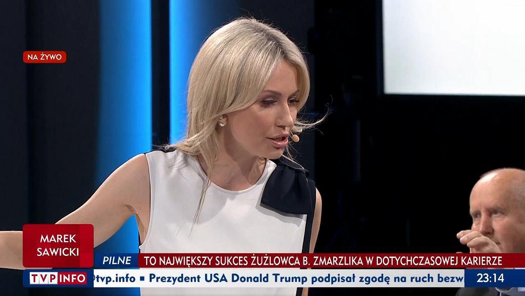 Magdalena Ogórek w programie 'Studio Polska'
