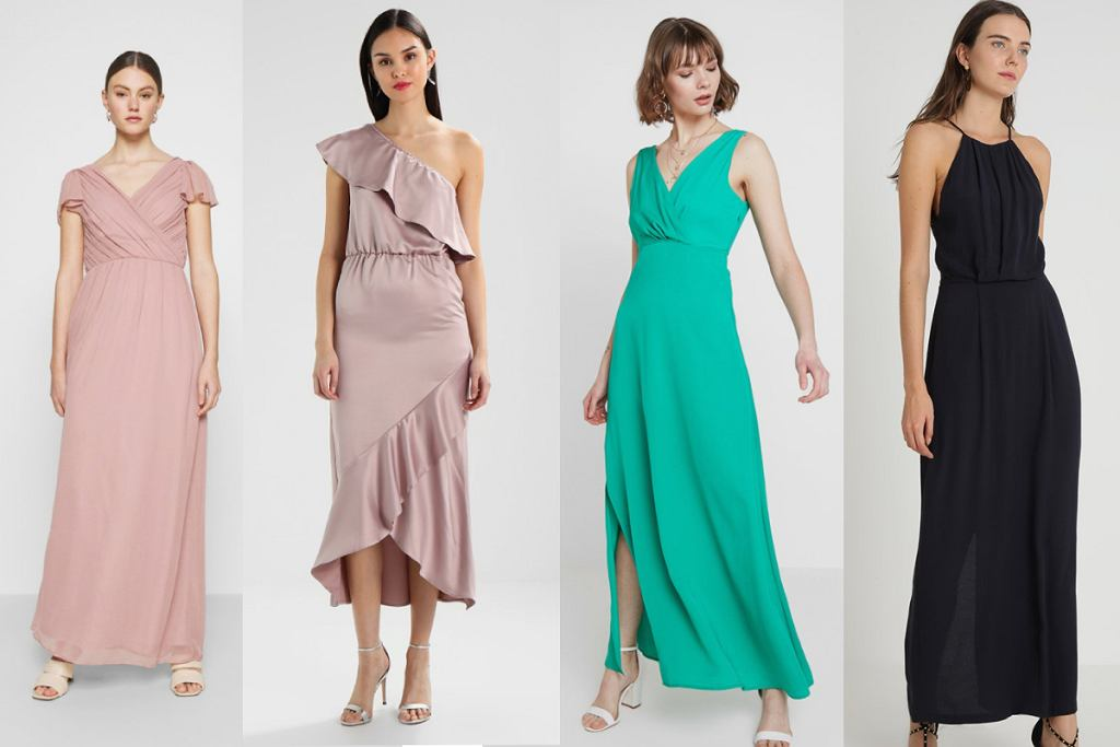 Długie sukienki na wesele z tiulu pozwolą ci przetrwać upały!