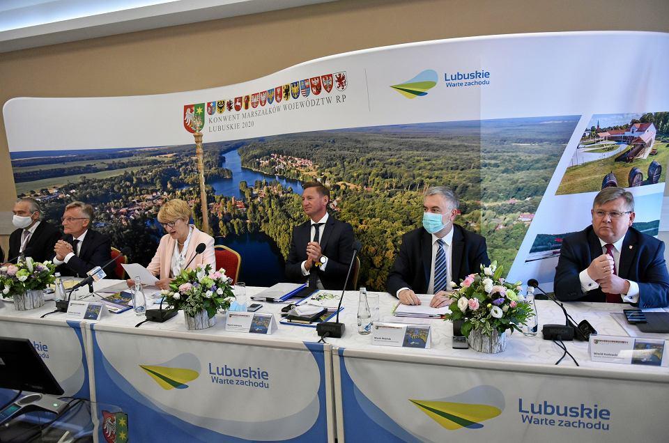 Konwent Marszałków RP, Lubniewice, 31 lipca 2020 r.