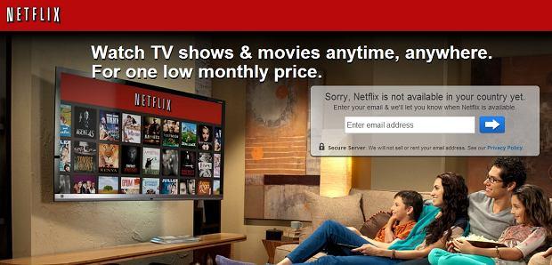 Netflix z polskiego IP