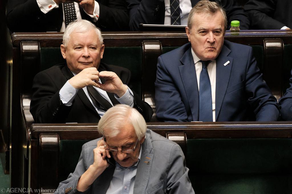 Jarosław Kaczyński, Piotr Gliński, Ryszard Terlecki