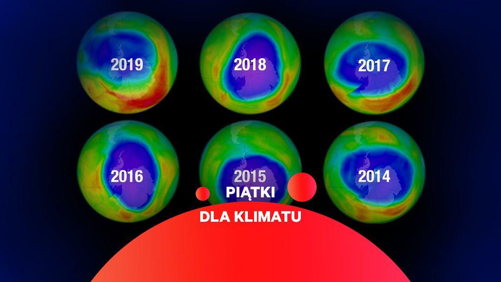 Dziura ozonowa jest najmniejsza w historii pomiarów