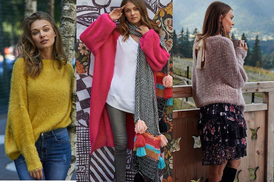 Zimowe wyprzedaże - ciepłe swetry