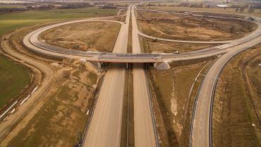 Tak wygląda obecnie budowa S3 na trasie Legnica - Lubin.