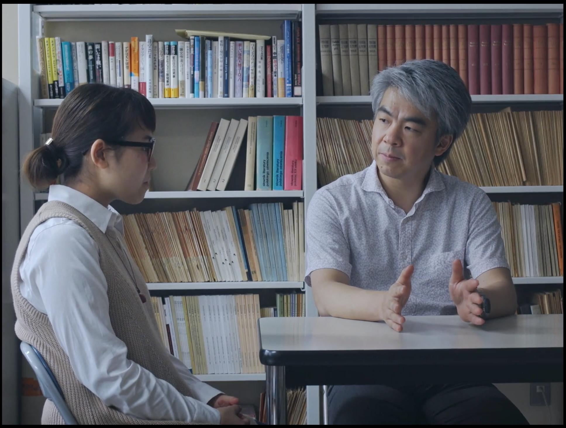 Koji Morita, nauczyciel języka polskiego w Tokio (fot: materiały Koi Studio)