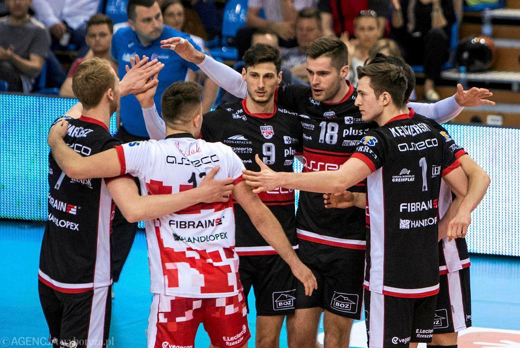 Trzeci mecz play-off Asseco Resovia Rzeszów - Indykpol AZS Olsztyn 1:3