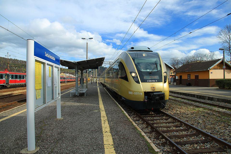 Linia kolejowa Żywiec - Sucha Beskidzka jest pomijana przy inwestycjach. Mieszkańcy mają tego dosyć