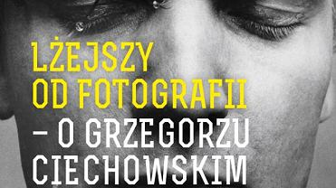 Okładka książki 'Lżejszy od fotografii' Piotra Stelmacha