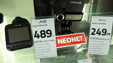 Kamerki samochodowe można kupić w płockich sklepach, są w różnych cenach