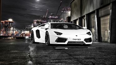 Lamborghini Aventador poprawiony przez Capristo