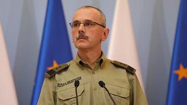 Komendant główny SG: Czy naszą winą jest to, że chronimy granic ojczyzny?
