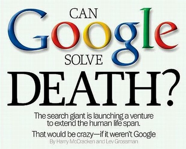Google szuka lekarstwa na śmierć. Zakłada w tym celu nową firmę