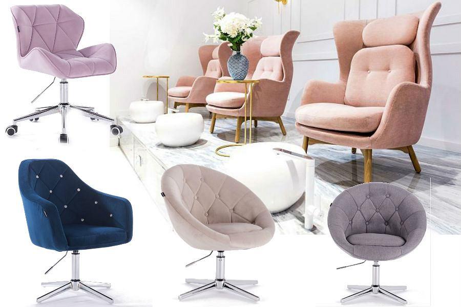 Profesjonalne fotele do salonów kosmetycznych