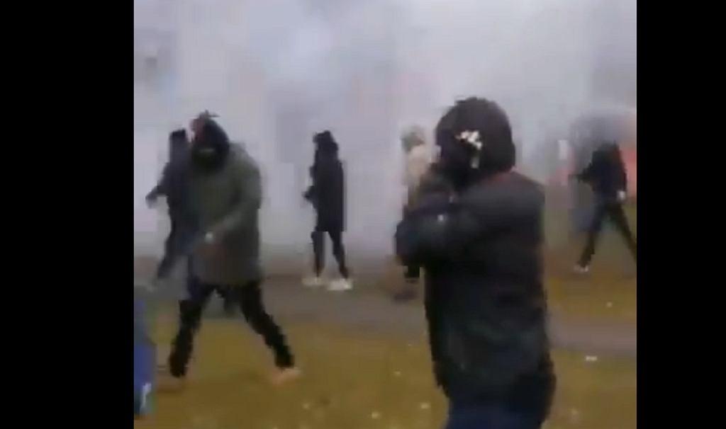 Manifestacje w Mińsku