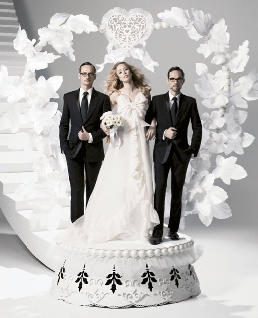 Viktor&Rolf i ich projekt sukienki ślubnej dla H&M
