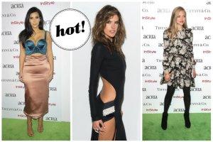 Monstrualny biust Kim Kardashian, odsłaniająca wszystko kreacja Alessandry Ambrosio oraz skromne stylizacje Amandy Seyfried, Stephanie Seymour i Camili Alves na gali ACRIA