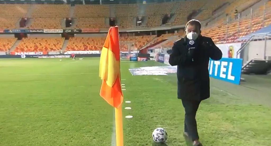 Żelisław Żyżyński w akcji