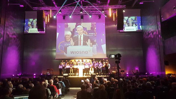 Konwencja Wiosny Roberta Biedronia w Kielcach