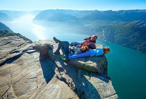 Norweska rodzina dużo czasu spędza na świeżym powietrzu