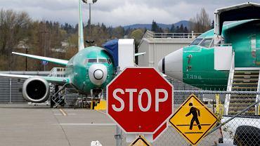 Boeing. Samoloty modelu 737 Max na terenie zakładu produkcyjnego w Renton, w stanie Waszyngton.