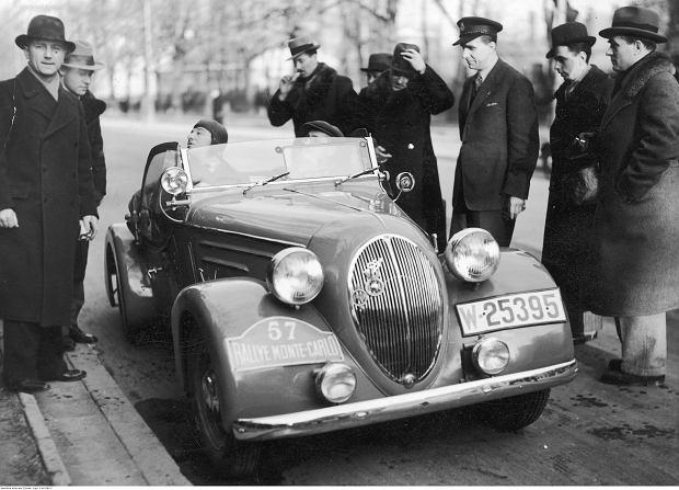 Tadeusz Z. Marek w Rajdzie Monte Carlo 1937