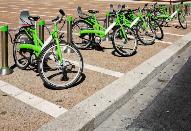 System rowerów miejskich w Tel Awiwie/ Fot. Shutterstock