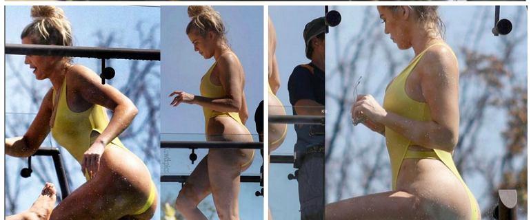 Khloe, gdzie twoje mięśnie?! Nowe zdjęcia jednej z najbardziej fit celebrytek zastanawiają....