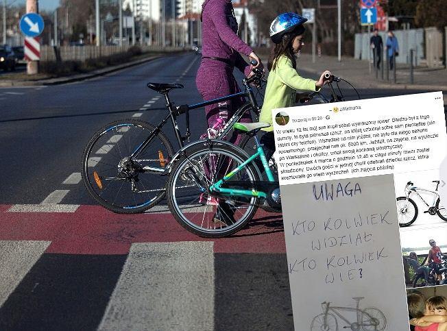 12-latkowi z Warszawy skradziono rower