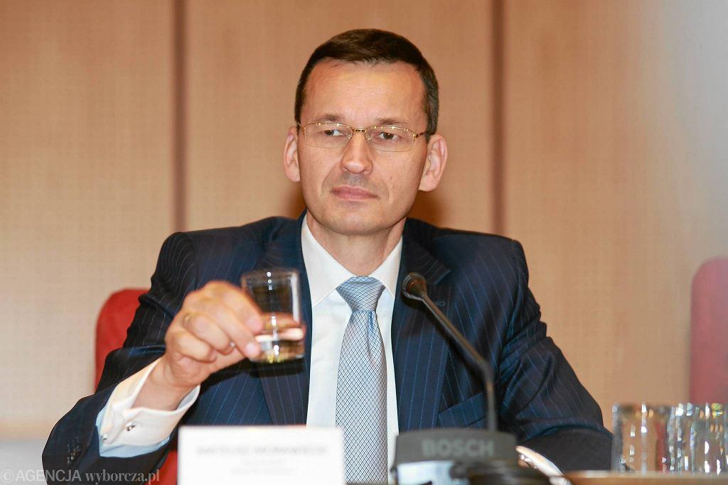 Wicepremier Mateusz Morawiecki z wizytą w Białymstoku